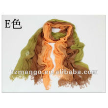 Spring 2016 two tone color Modal scarf