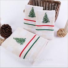 Serviette de toilette spéciale arbre de Noël Ht-054