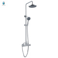 KDS-18 luxury straight hand shower solid copper surface mounted temperature control multifuntional shower mixer set