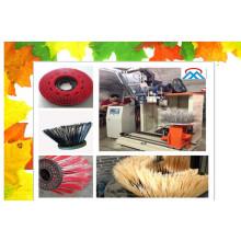 Escova da máquina da escova do disco de 4 linhas centrais / escova do disco que faz a máquina / máquina escova do tufting