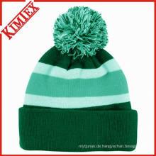 Großverkauf bunter gestrickter Winter-Beanie-Hut