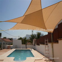 triangle swimming pool cover