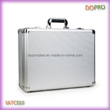 Silber ABS Handgriff Custom Aluminium Aktenkoffer mit Kombinationsschloss (SATC010)