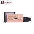 HEC Großhandel Fancy Design Bunte Geldbörse Frauen Brieftasche