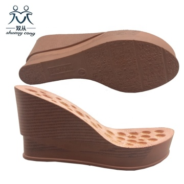 PU Wedge Sandals Sohle
