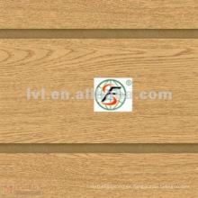 Varios colores de grano de madera ranurada placa de mdf