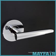 Custom Round Plate Metal Door Lever Handle