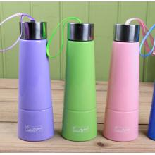 Diseño creativo botella de agua de plástico 380ml (SLSB06)