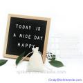High quality changeable black felt letter board 10x10 inches with 290 characters High quality changeable black felt letter board 10x10 inches with 290 characters