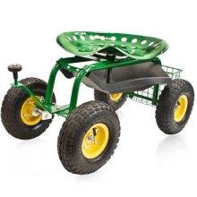 Siège de travail de jardin / chariot de siège de jardin de roulement / siège démontable