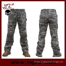 Calça de combate tático militar Assualt calça com joelheira