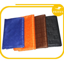 Hot Selling Nigerian Cheap Polyester Kaftan Fabric for Bazin Dresses