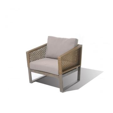 Outdoor Aluminum Furniture Waterproof Fabric Rattan Chairs