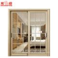 Haus Haustür Modell Badezimmertür für Wohnung Aluminiumrahmen