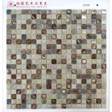Mosaico de vidrio con mosaico Shell