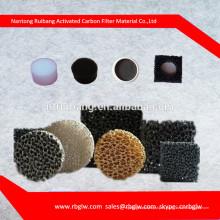 производство активированного Carchoal автоматический воздушный фильтр пены