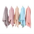 Adult Soft Coral Velvet Microfiber Face Towel