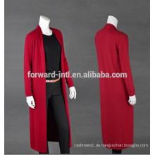 Damen Langarm warm Strickjacke Pullover