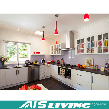 Meubles élégants modernes de Cabinet de cuisine en forme de L (AIS-K590)