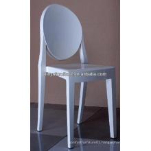 White plastic ghost chair XA1090