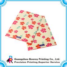 carpeta de presentación personalizada de impresión colorida de bajo costo