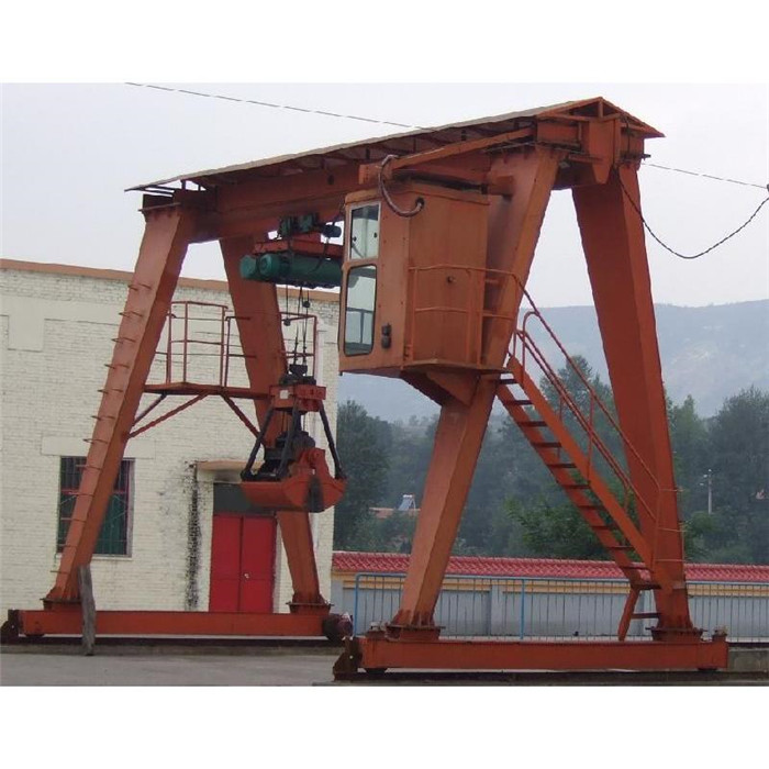Mz Double Girder Crane With Grab Bucket