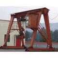 MG Double Girder Gantry Crane na may Grab Bucket