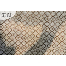 Small Latticed Chenille Jacquard Sofa Fabric and Furniture Fabric (FTH31251C)
