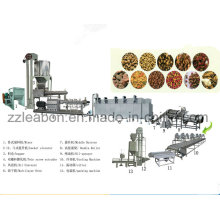 Máquina de fabricación de alimentos para perros automática completa del gato del animal doméstico