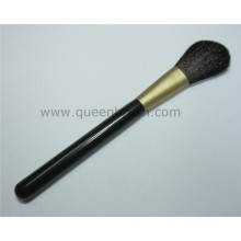 Free Sample Wooden Handle Synthetic Hair Powder Brush