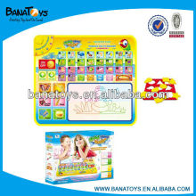 Funny painting baby playmate learning mat with music