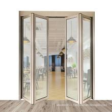 hot selling Z20 aluminum automatic folding door for restaurant