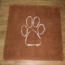 Alfombra para mascotas antideslizante de felpilla y felpa de microfibra