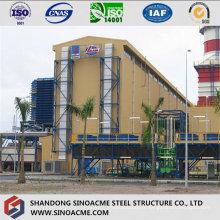 Structure de cadre en acier pour usine de grande hauteur