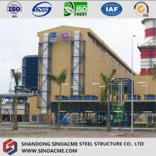 Steel Frame Structure for High Rise Plant