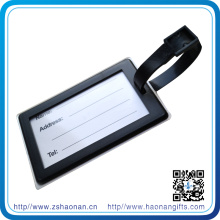 Design Soft PVC Luggage Tag with Colorful Logo for Promotional