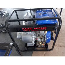 6 Inch Single Stage Centrifugal Key Start Diesel Water Pump for Agricultural Irrigation Use