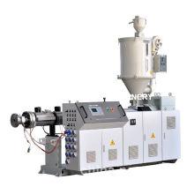 Linha de extrusão de tubo de gás e água HDPE de maquinaria plástica