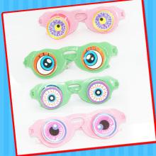 Plastik Regenbogen Sun Glas Spielzeug mit Süßigkeiten