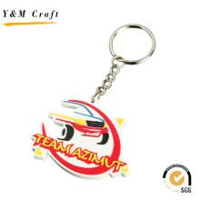 Keychain de PVC de promotion de haute qualité pour le cadeau (Y04278)