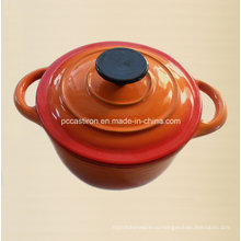 2qt Эмаль Чугун Cocotte Кухонная посуда LFGB Approved Factory China