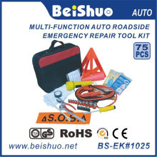75PCS Car Emergency Tool Kit/Auto Emergency Kit with Good Quality