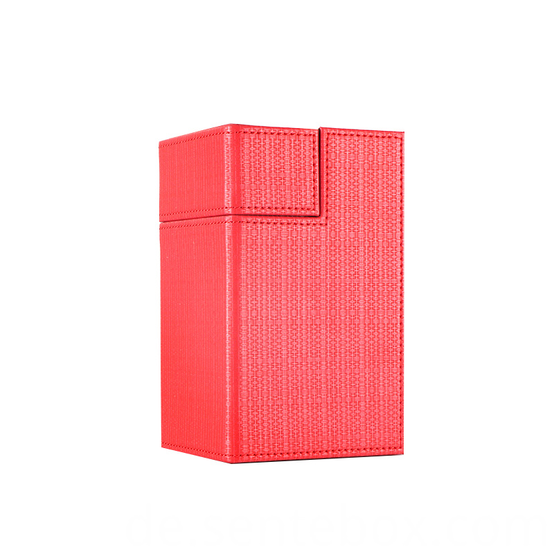M2 PU leather card storage deck box