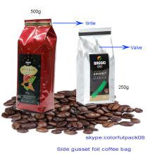 Laço da lata Saco de café / saco de café com válvula / sacos de chá do café