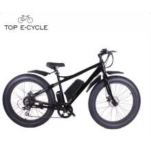 TOP New design Aluminium Alloy fat tire 8fun rear motor electric hunting bike