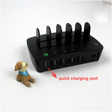 Cargador de energía multi USB de 5 puertos para iPhone