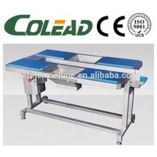 vegetable table with conveyor/work table /six station selecting conveyor/conveyor