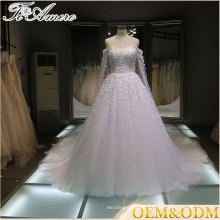 2016 China wholesale Off shoulder brand name wedding dress