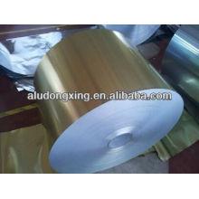 Hoja de aluminio hidrófilo para aire acondicionado