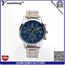 Yxl-329 Wholesale Cheapest Chronograph Watch Business Stainless Steel Quartz Custom Watches for Mens